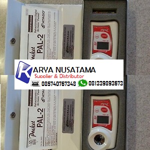 Jual Tes Kadar Kekentalan Refrectometer Atago PAL-2 Pocket di Bandung