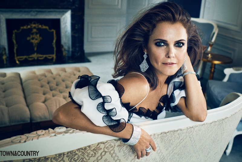 Star Wars' Keri Russell Graces the Pages of Town & Country
