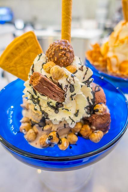 Ice Cream at Harrods - London, England