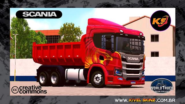 SCANIA P320 CAÇAMBA - HERÓIS DA ESTRADA EDITION