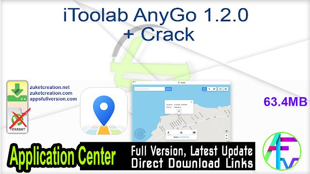 iToolab AnyGo 1.2.0 + Crack