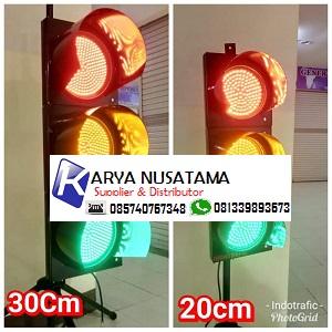 Jual Lamp Traffic Lampu Lalu Lintas  30 cm 22 Watt di Jember