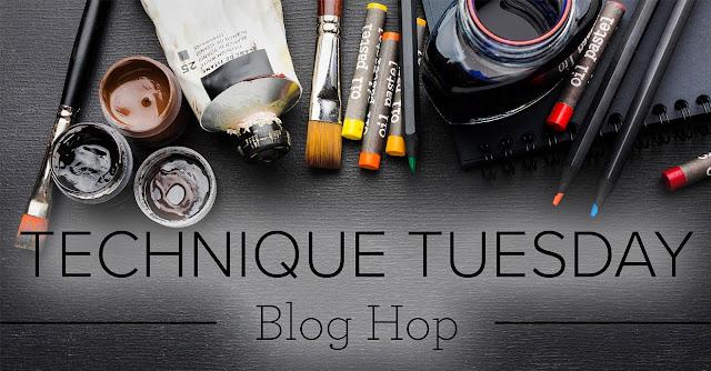 Pressure Embossing Technique Blog Hop
