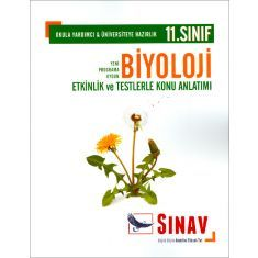 Sınav 11.Sınıf Biyoloji Etkinlik ve Testlerle Konu Anlatımlı
