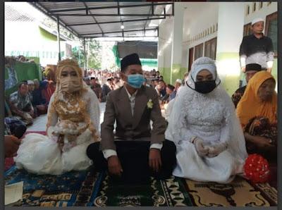 Pria Lombok nikahi dua gadis sekaligus