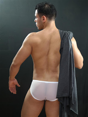 GBGB Wear Carson Swimwear White Back Gayrado Online Shop