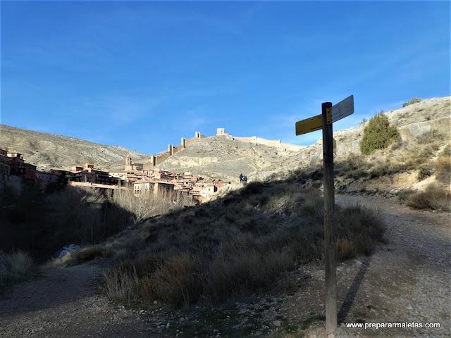 ruta de senderismo por los alrededores de Albarracín