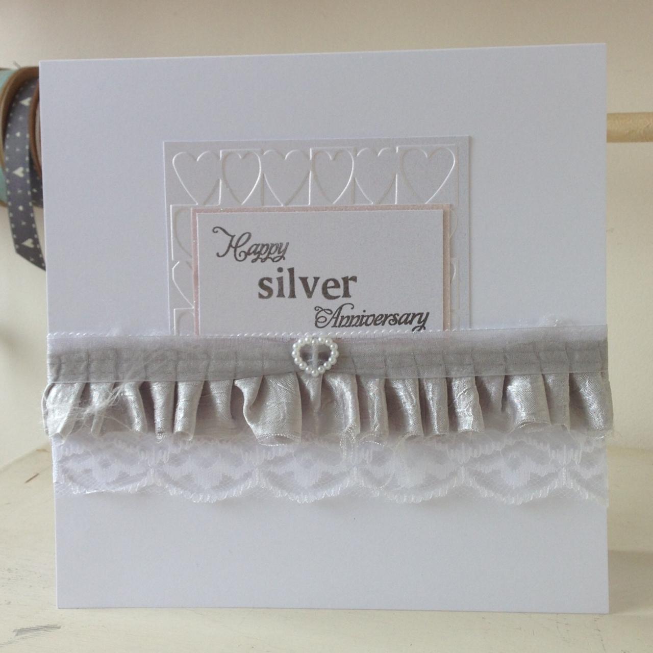 a world of imagination silver wedding anniversary card