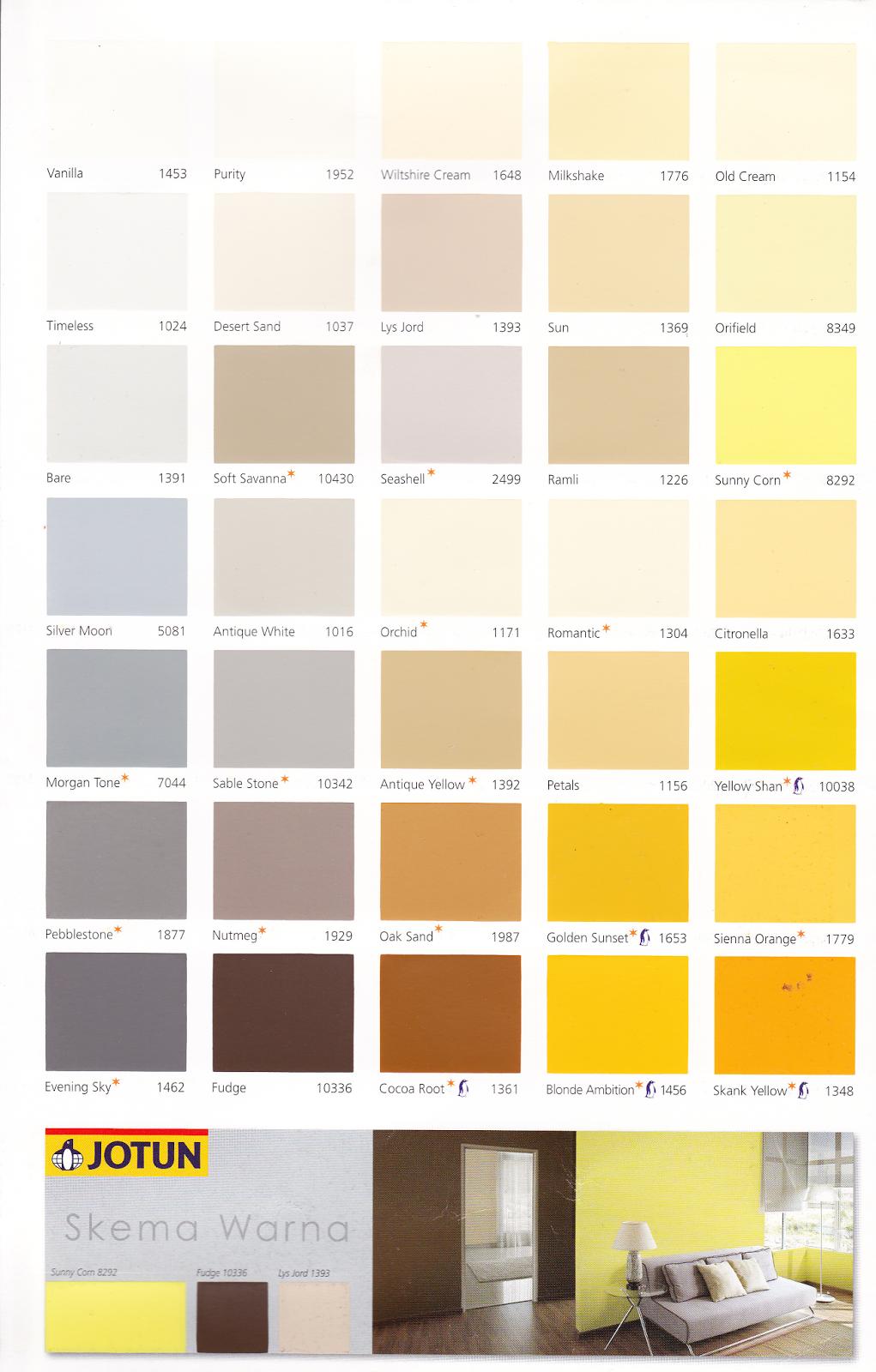 16 Ide Warna Cat Rumah Minimalis Merk Jotun