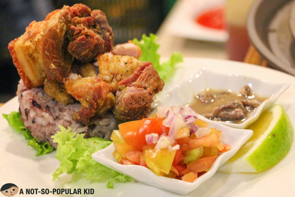 Baguio Bagnet - a best-seller of Cafe by the Ruins