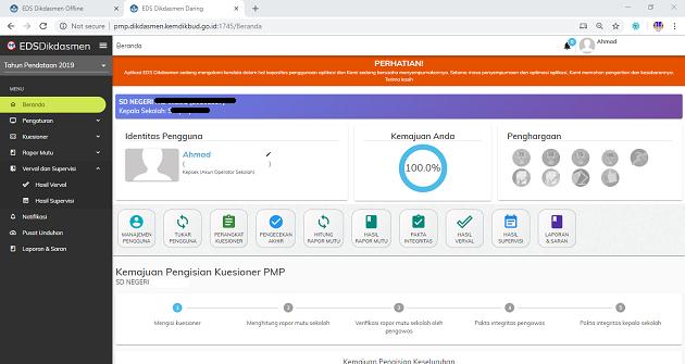 Evaluasi Pengisian EDS PMP 2019