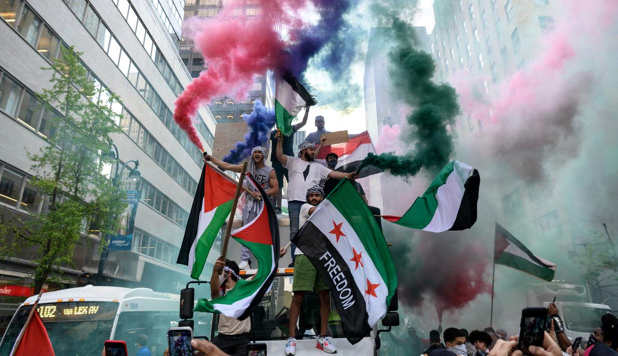 Sejumlah Faktor Ini Sebabkan Dukungan kepada Palestina Semakin Menguat