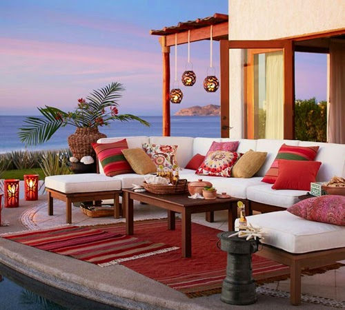 Colorful Life With Nice Outdoor Garden Furniture
