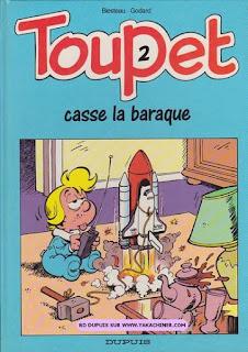 Toupet 2, casse la baraque, par Blesteau. Godard, année 1989