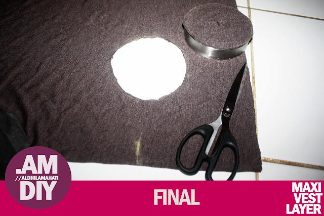 Cara Membuat Cardigan Panjang Sendiri Tanpa Mesin Jahit, Benang, dan Jarum