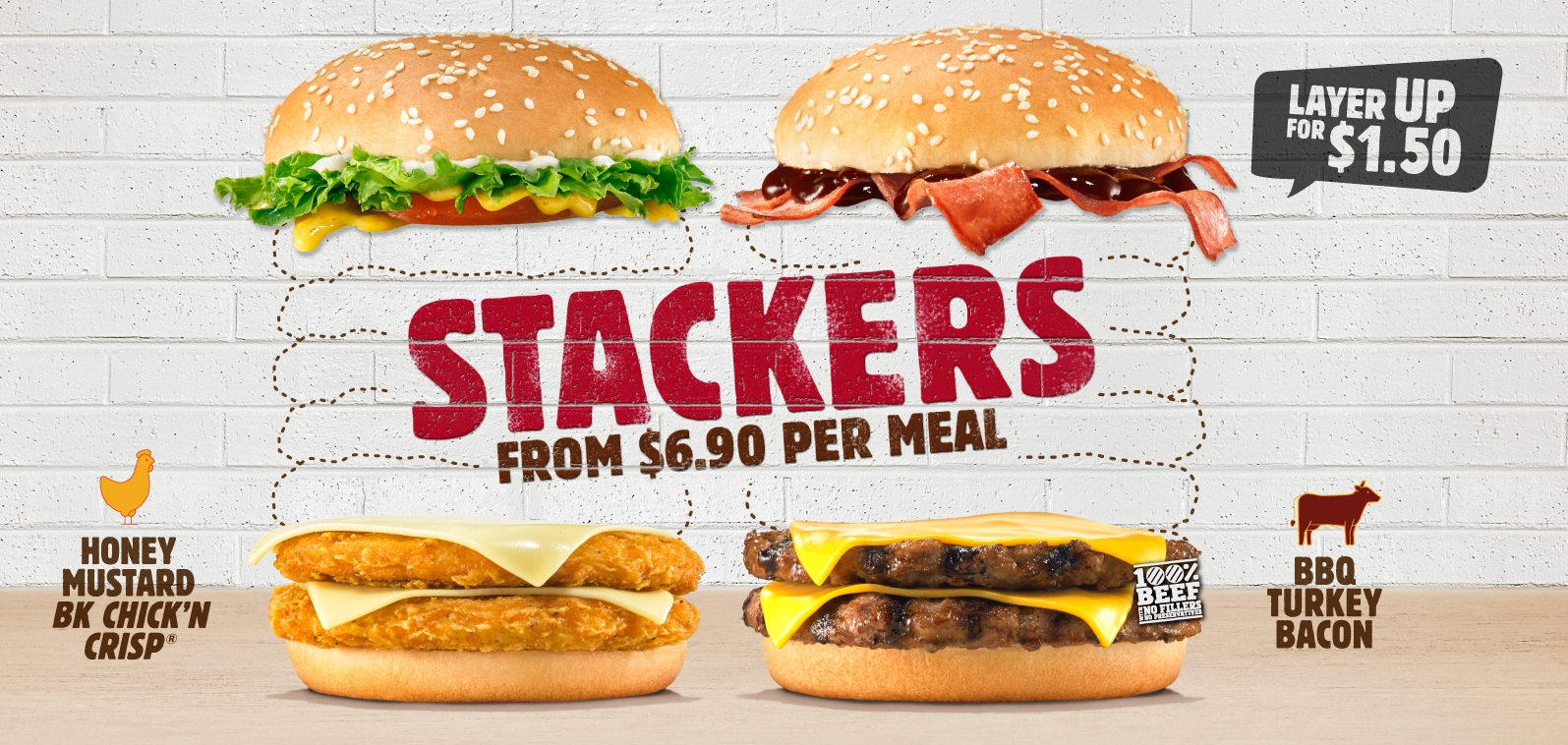 Burger Fans And Meat Lovers Will Be Elated Over The Return Of BURGER KING Stacker BBQ Turkey Bacon