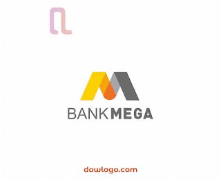 Logo Bank Mega Vector Format CDR, PNG