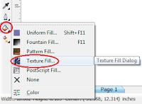 Cara Mewarnai Objek Fill, Outline, dan Fountain Fill di CorelDRAW X4