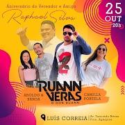 Luís Correia-Pi: Vereador Raphael comemorará aniversário junto com o povo ao som de Don Ruan