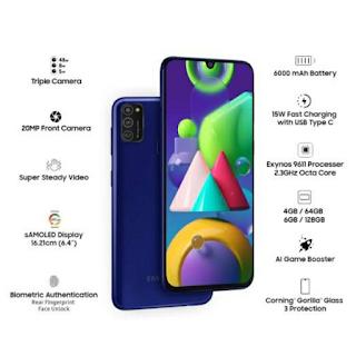Hp Samsung Galaxy M21 harga 3 jutaan