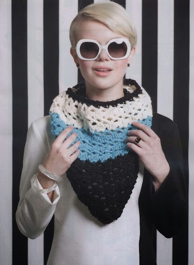 Bandana Scarf de Crochet Patron