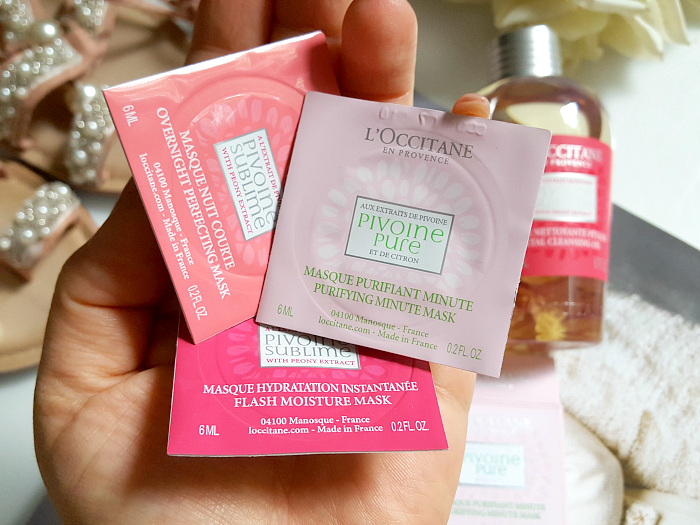 L´Occitane Pivoine Sublime - Mini Mask Pods Gesichtsmasken - 6ml - je 5.50 Euro - Madame Keke The Luxury Beauty & Lifestyle Blog
