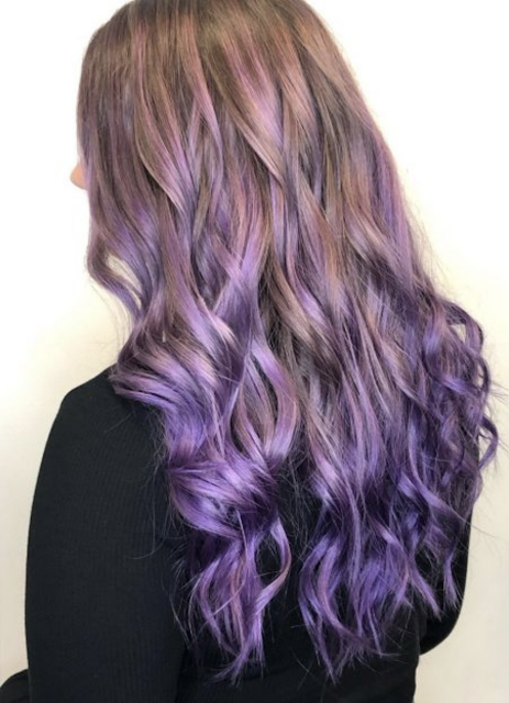 lavender hair color 2019