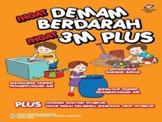 Ayoo Cegah DBD Dengan PSN 3M Plus