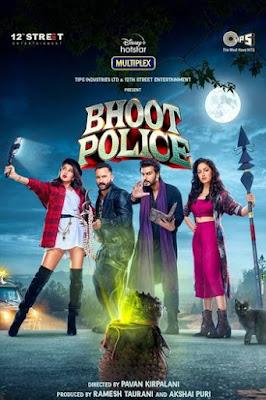 Bhoot Police 2021 [Hindi DD5.1] | 4K | 1080p | 720p | 480p | WEBRip MSubs Download