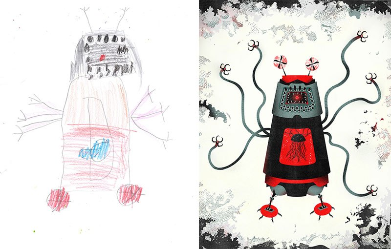 When Artists Bring Kids' Monster Drawings To Life (33 Photos)