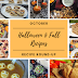 Halloween & Fall Recipe Round Up