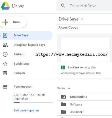 mengakses google drive2