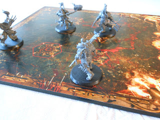 Gorechosen game in progress
