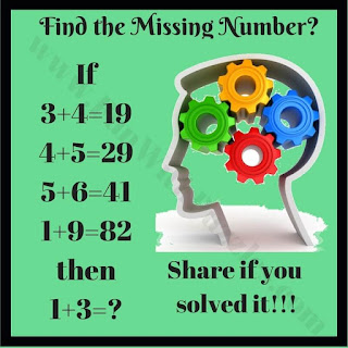 Math Tricky Puzzle of Logical Equations