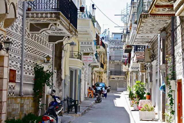 Pyrgi, Sakız Adası (Chios),