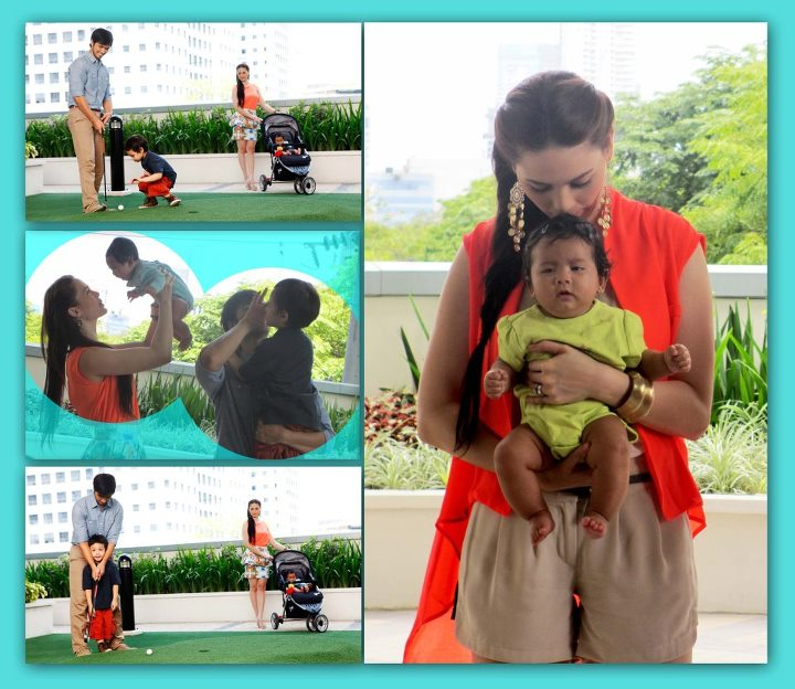 Kristine Hermosa  Oyo Sotto and Kids Kiel and Ondrea Bliss on the    Oyo Boy Sotto And Kristine Hermosa Baby