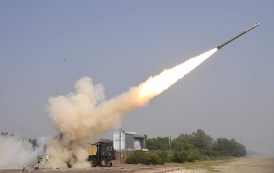 DRDO Successfully Flight-Tests Two Pinaka Missiles in Salvo Mode