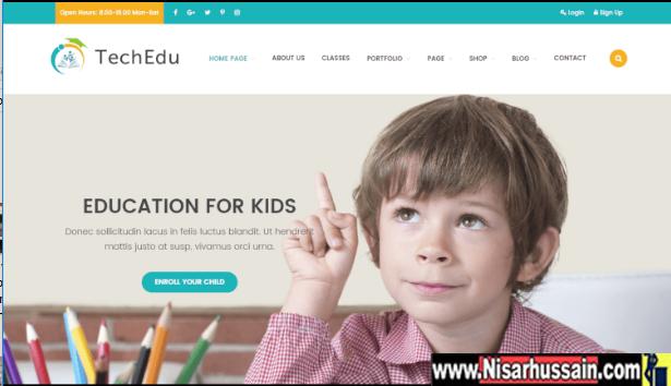 TechEdu – Education Premium Theme
