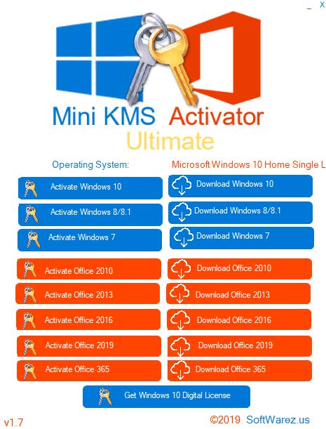 kms windows 7,8,8.1,10