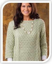 ajurnii uzor spicami dlya pulovera (16)