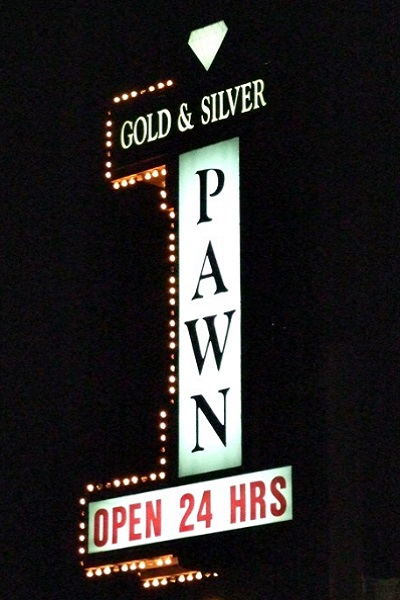 Casa de empeño o pawn shop