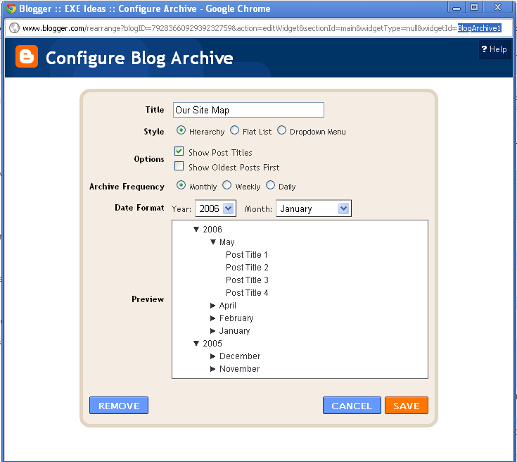 Html Sitemap Generator: How To Easily Create Automatic Updated Sitemap For Blogger
