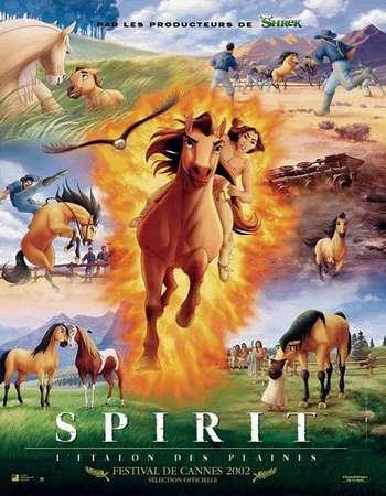 Spirit Stallion of the Cimarron 2002 Dual Audio Hindi BluRay 480p 280MB ESubs