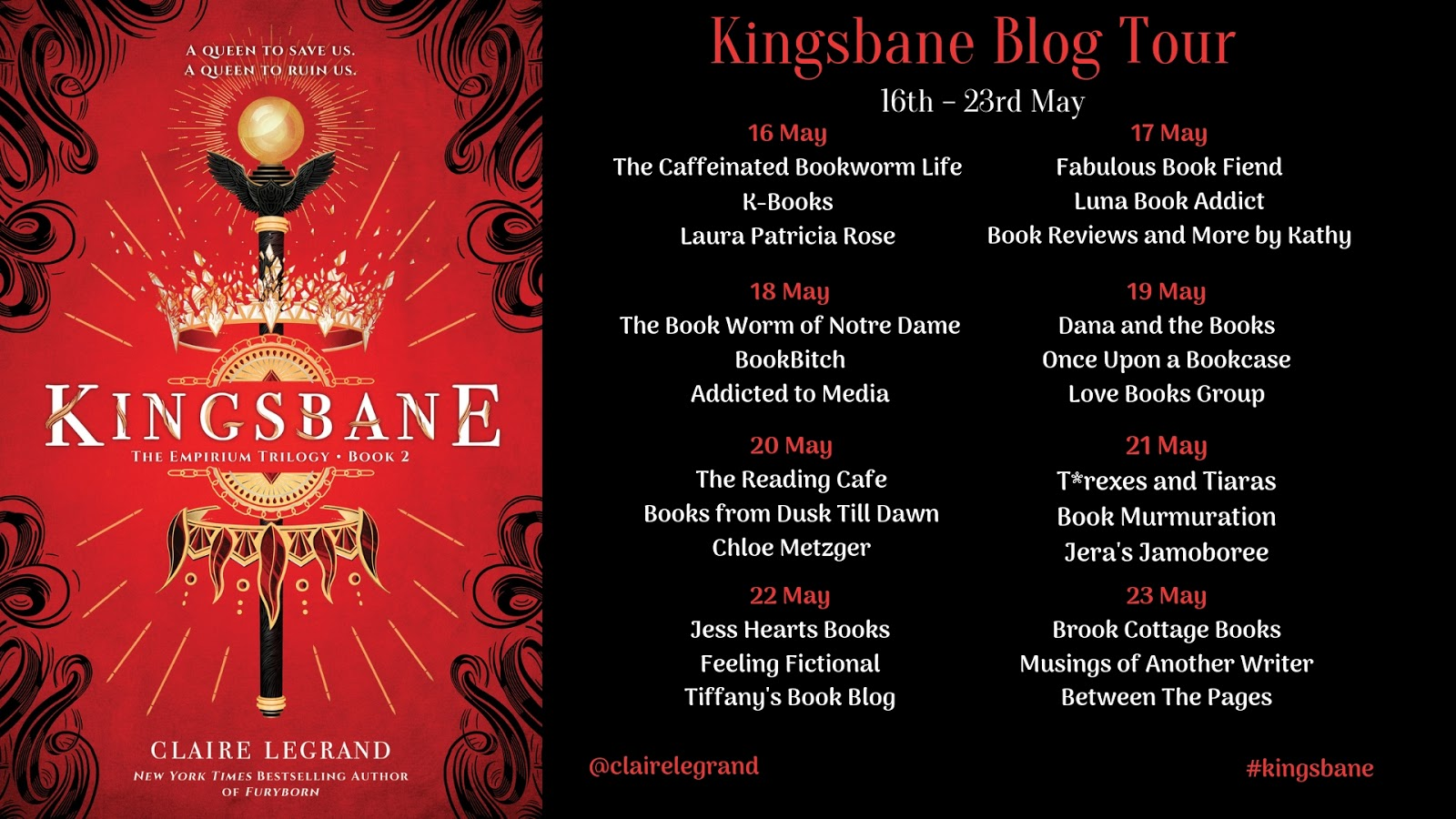 Kingsbane by Claire Legrand   Exclusive Excerpt   Superior Young Adult Fiction