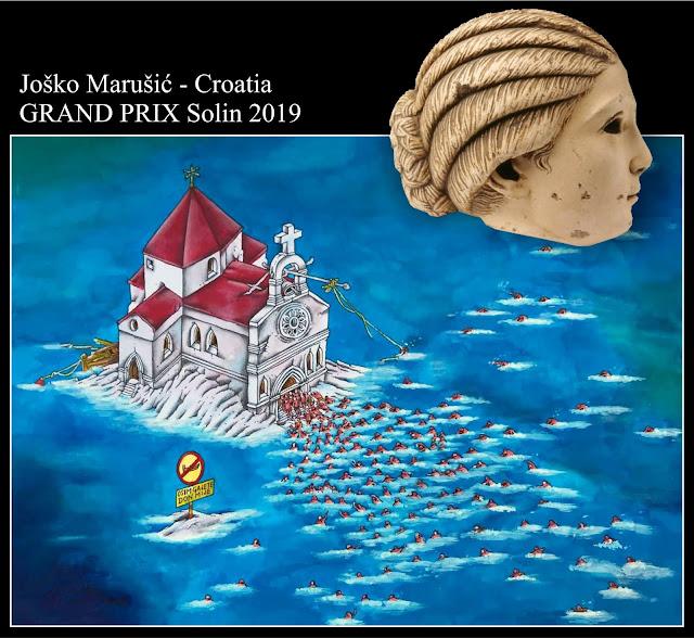 The Winners of the 15th International Solin Caricature Festival 2019 Croatia