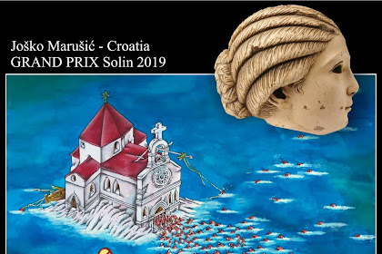 The Winners of the 15th International Solin Caricature Festival 2019 Croatia