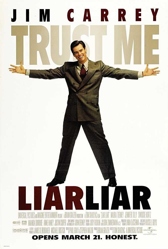 Poster Liar Liar 1997 Full Movie Dual Audio Free Download 300Mb