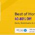 Flipkart furniture Sale Up to 60% off
