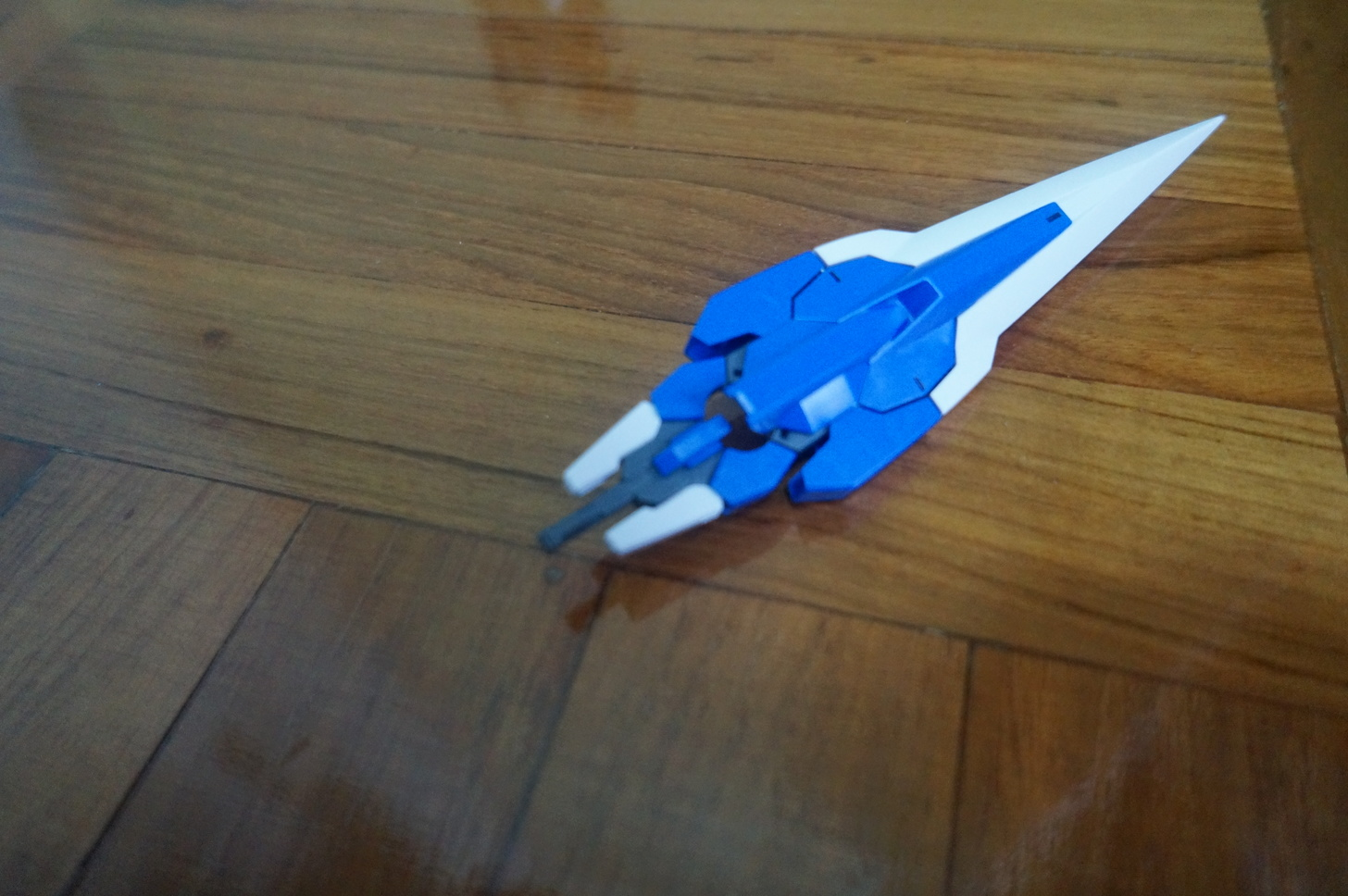 Manpigs Collection Hg00 00 Gundam Seven Sword G Review Foldupsword Origami Diagram When You Want To Use It Simply Just Take Off The Shoulder Push In Handle And Later Flip Up Hilt Parts