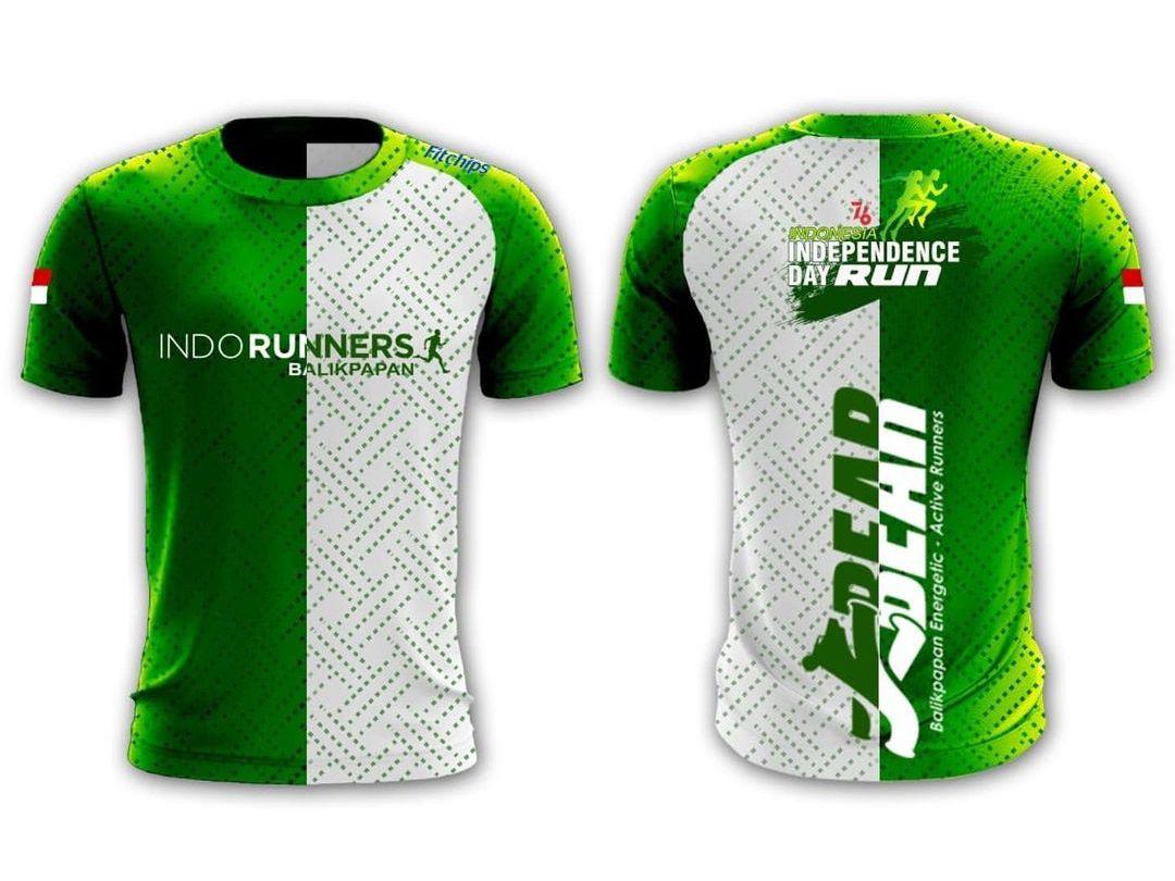 Jersey 👕 Indonesia Tangguh Fitchips Virtual Run • 2021